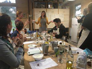 deelnemers workshop dagcreme maken