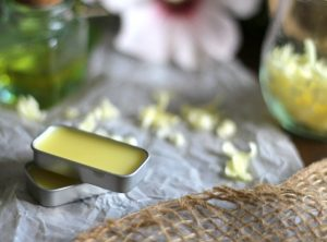 Winterglow solid perfume met mirre